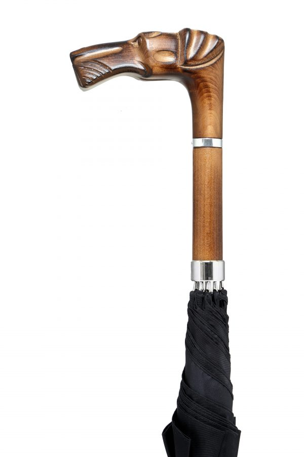 GBT-Carved Airedale-Handle