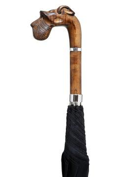 GBT-Carved Schnauzer-Handle