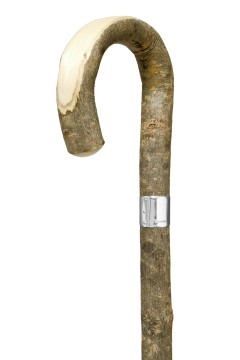 GCWS-Bark Ash Peeled Crook-SLB-Handle Angle
