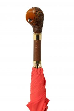 LTU-Parrot Pencil-Red-Handle Angle