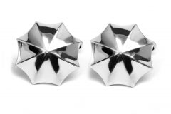 ACC-Silver Cufflinks-Front