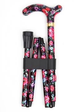 LFWS-Pink and Black Floral-Folded